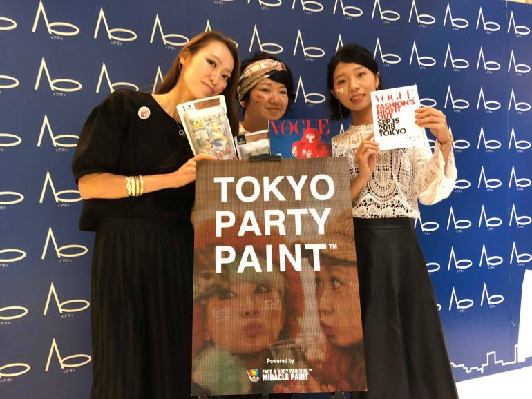 TOKYO PARTY MAKEでの集合写真