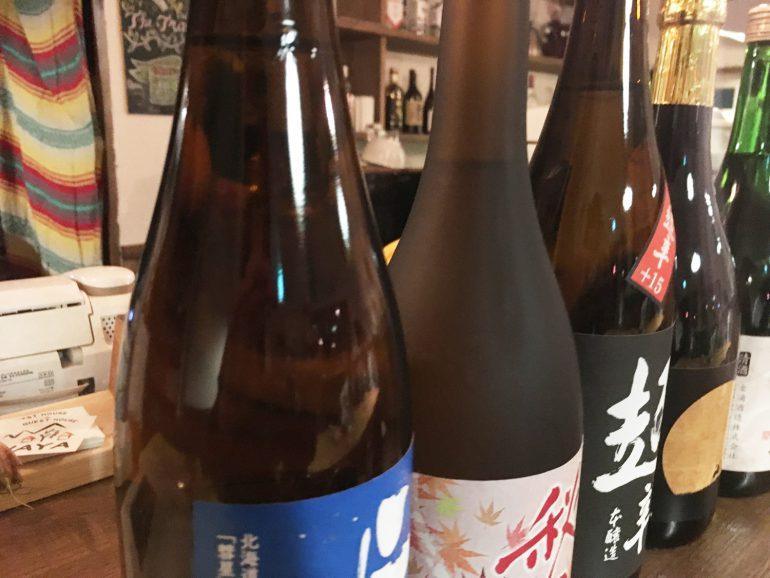 日本酒の瓶