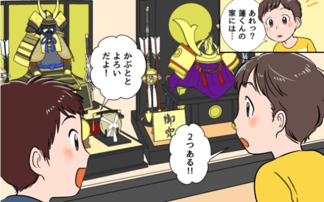 五月人形の漫画
