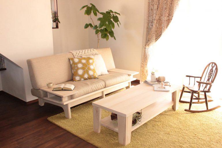 ソファとローテーブル