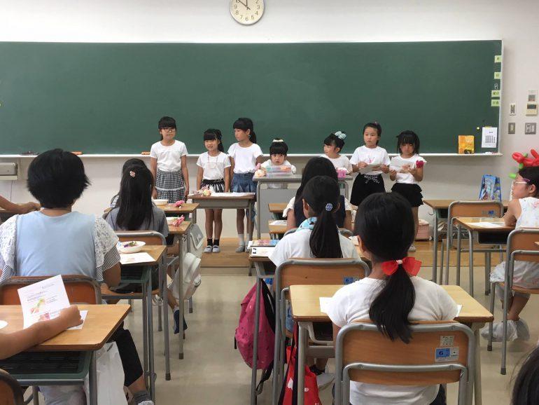 『キッズティーチャー』企画に参加してくれている子供たち