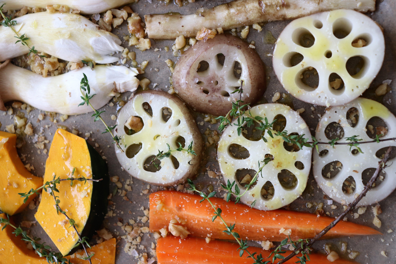 秋野菜のオーブングリル