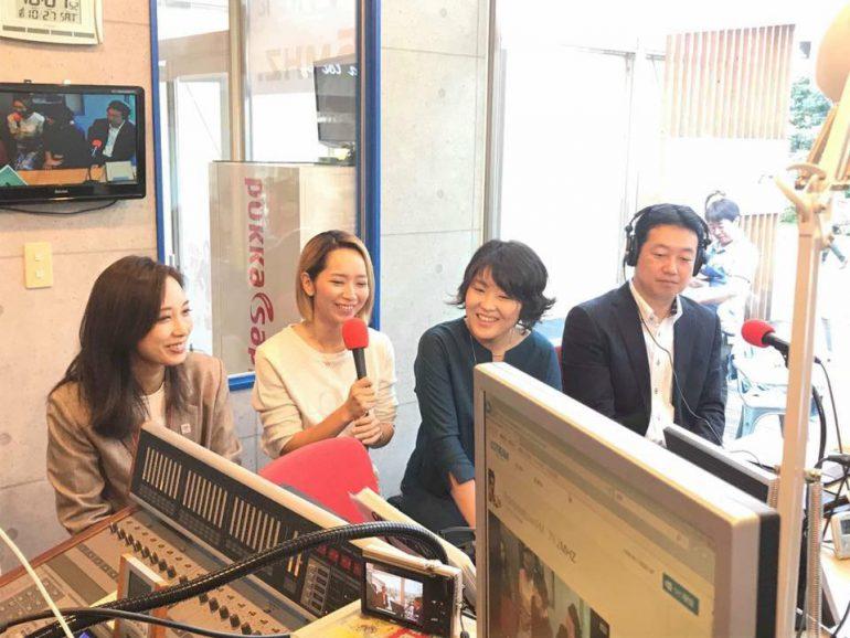豊洲在住のママ3名、三次 ゆりかさん、本橋 ひろさん、加持 麻希さん
