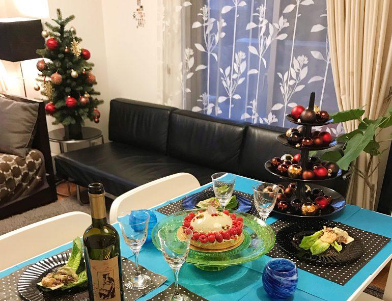 キャンドルクリスマスコーディネート