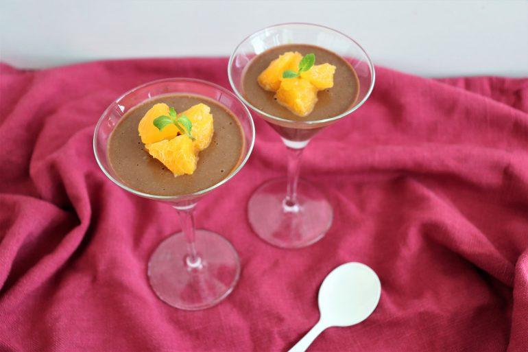 オレンジ風味のクレームショコラ