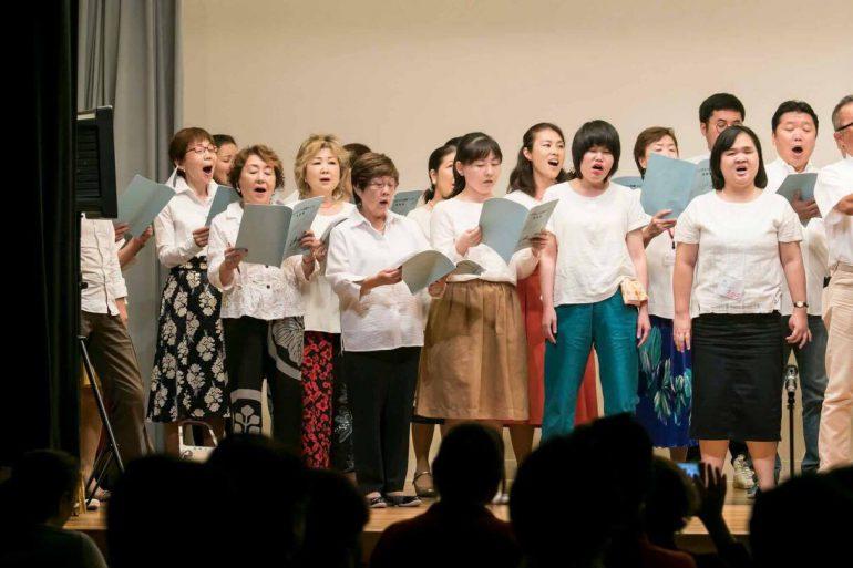 小柴 寿美子さん合唱