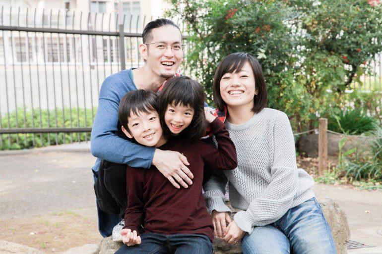 岡本真梨子さん家族