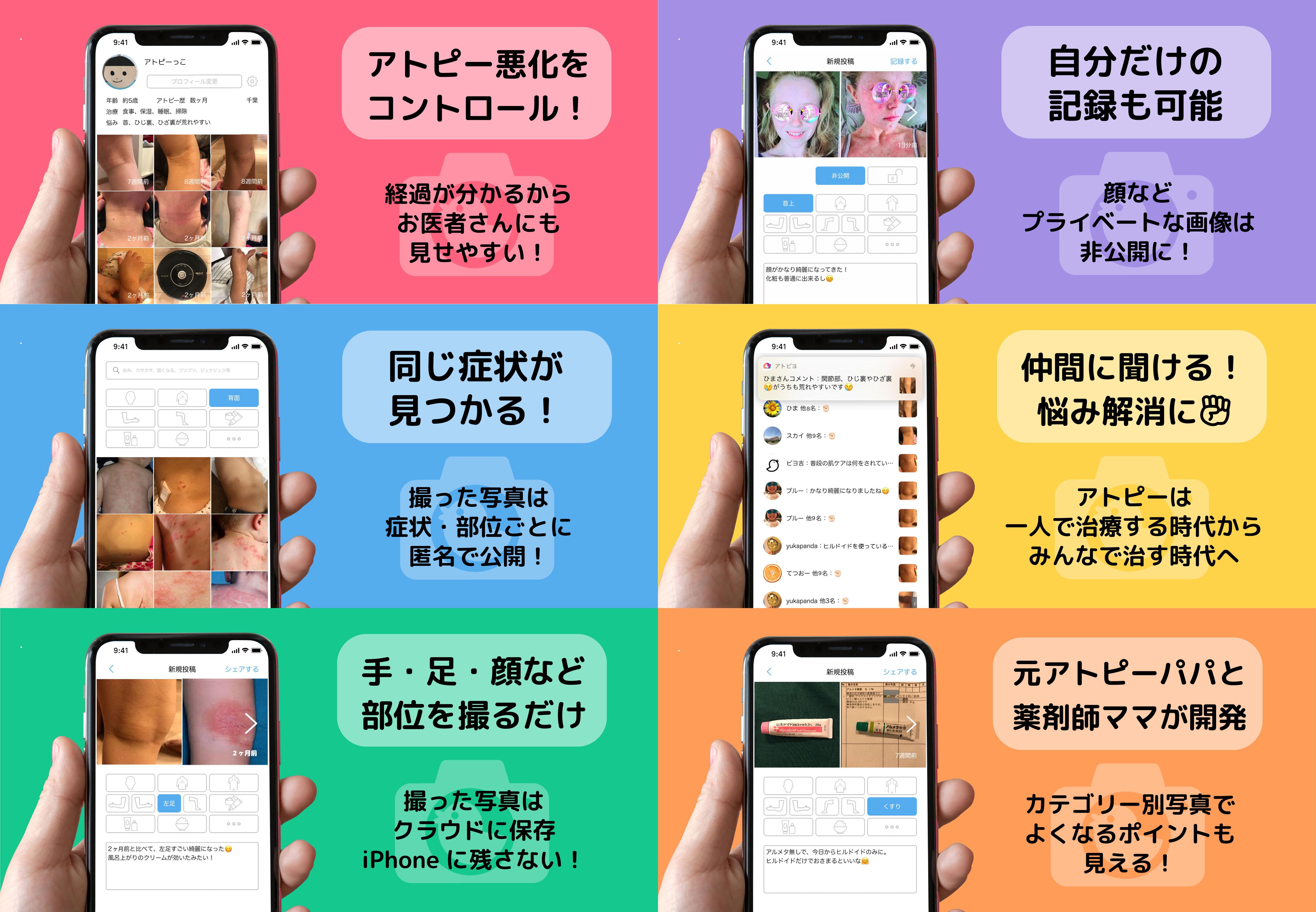 「アトピヨ」画面