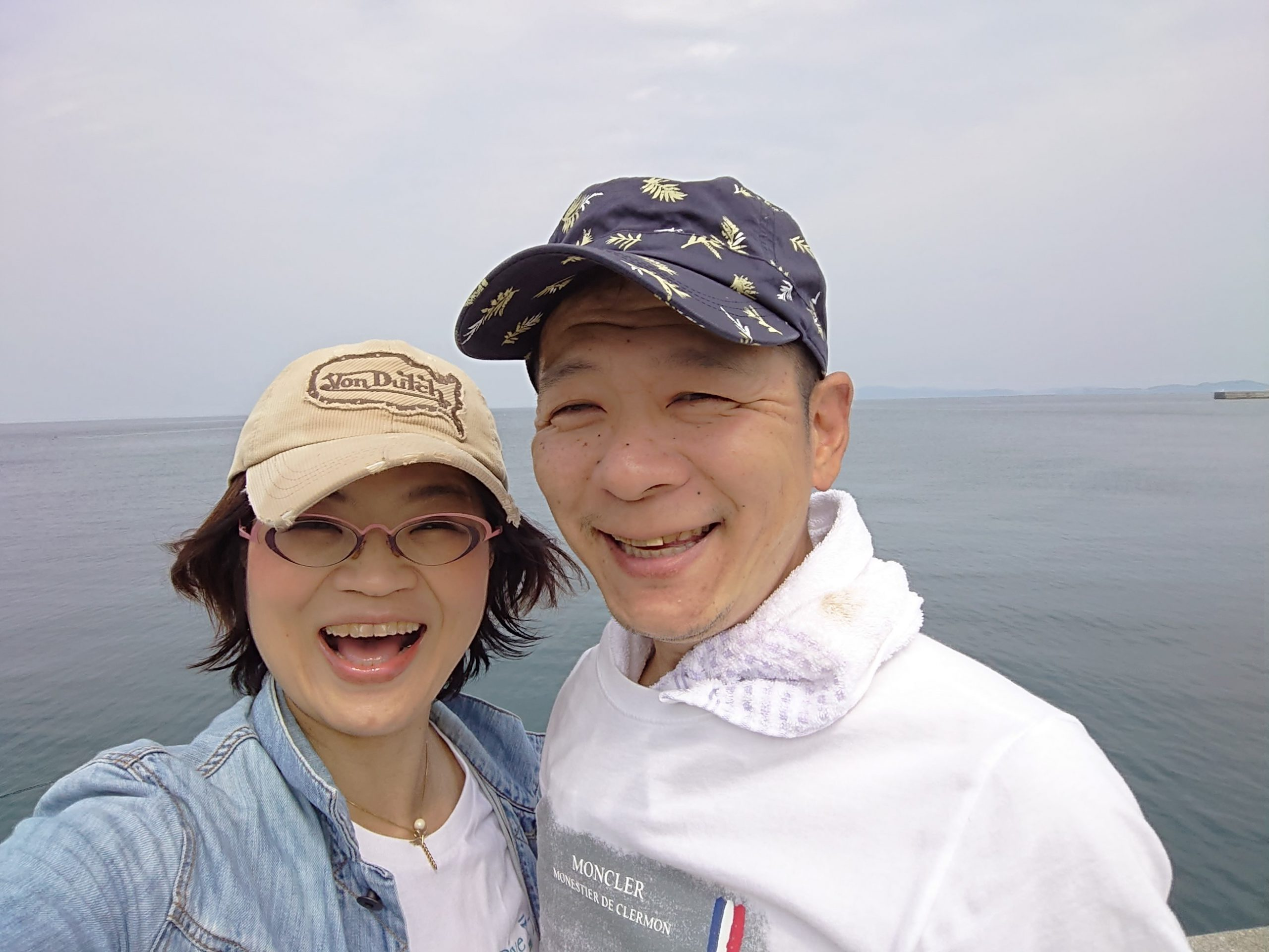 福原由美子さん夫婦