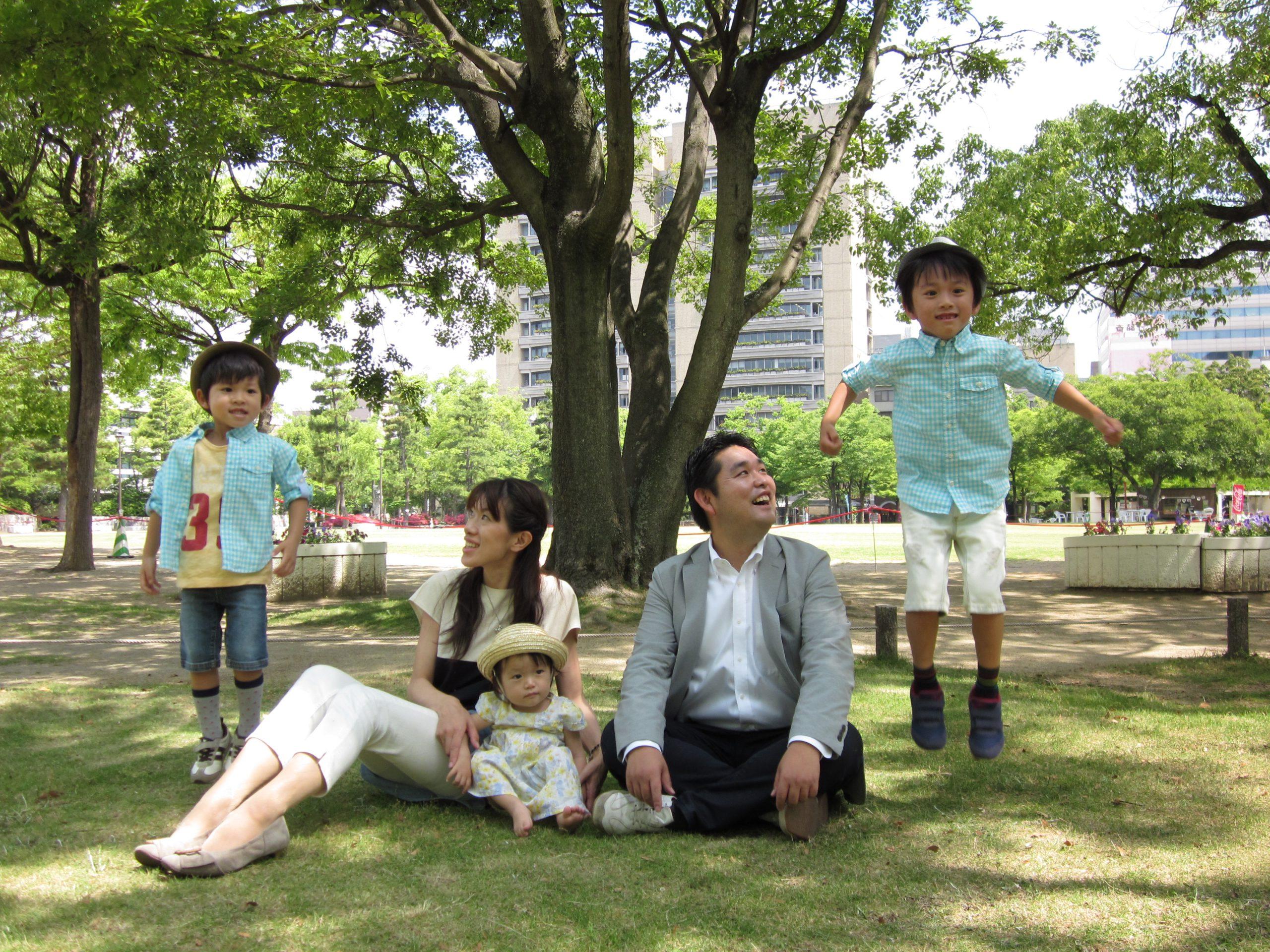 徳倉康之さん家族