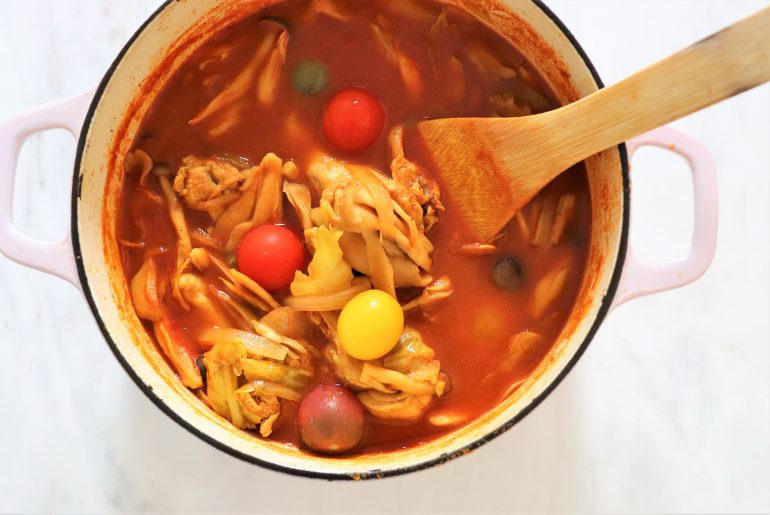 トマトスープカレーの作り方